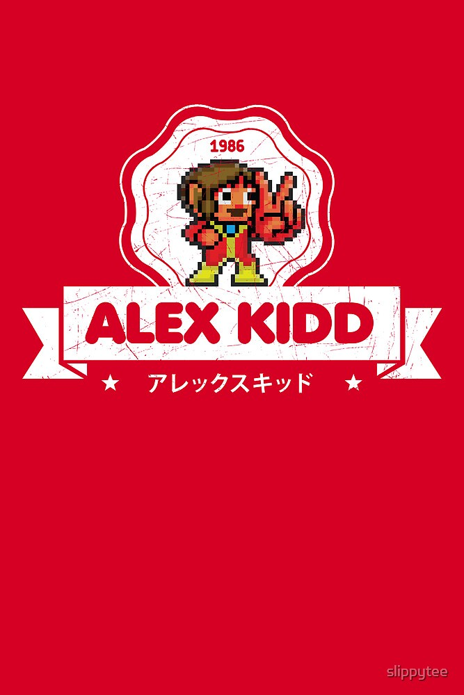 Alex Kidd by slippytee