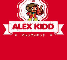 Alex Kidd by slippytee