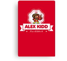 Alex Kidd Canvas Print