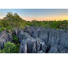 The Tsingy of Madagascar Photographic Print