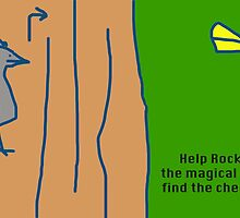 Help Rocky the magical bird find the cheese!!! by 00000001