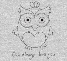 Nostalgic Love - Owl Kids Tee