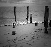 Old jetty by Andrew Turley