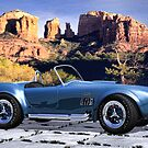 Oak Creek Canyon Shelby Cobra by Walter Colvin