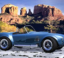 Oak Creek Canyon Shelby Cobra by Walter Colvin