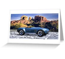 Oak Creek Canyon Shelby Cobra Greeting Card