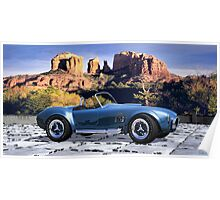 Oak Creek Canyon Shelby Cobra Poster