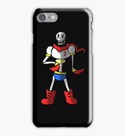 Undertale The Great Papyrus iPhone Case/Skin