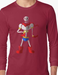 Undertale The Great Papyrus Long Sleeve T-Shirt