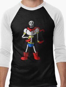 Undertale The Great Papyrus Men's Baseball ¾ T-Shirt