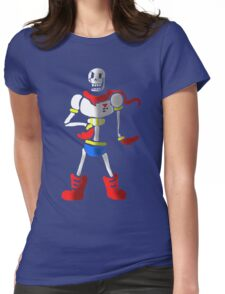 Undertale The Great Papyrus Womens Fitted T-Shirt