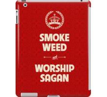 Smoke Weed - Worship Sagan iPad Case/Skin