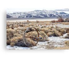 Ranching in the Black Rock Desert Canvas Print