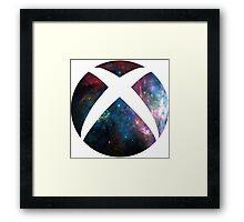galactic Xbox Logo Framed Print