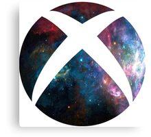 galactic Xbox Logo Canvas Print