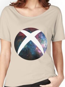 galactic Xbox Logo Women's Relaxed Fit T-Shirt