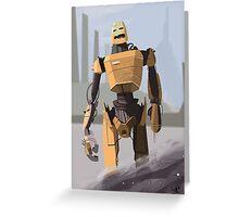Scrapheap Skullbot. Greeting Card