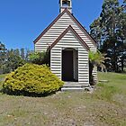 Goulds Country Union church, Tasmania by Margaret  Hyde