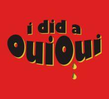 I did a OuiOui Kids Tee