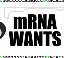 mRNA Wants U Sticker