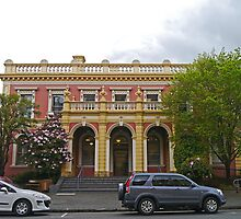 State Government Building, Launceston, Tas, Australia by Margaret  Hyde