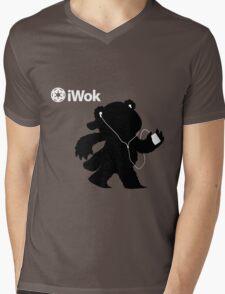 iWok Mens V-Neck T-Shirt