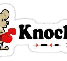 It's a Knockout Mouse ! Sticker