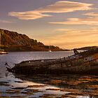 Sunken Gold on Loch Craignish by derekbeattie