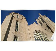 church and sky Poster