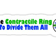 Lord of the Contractile Ring Sticker