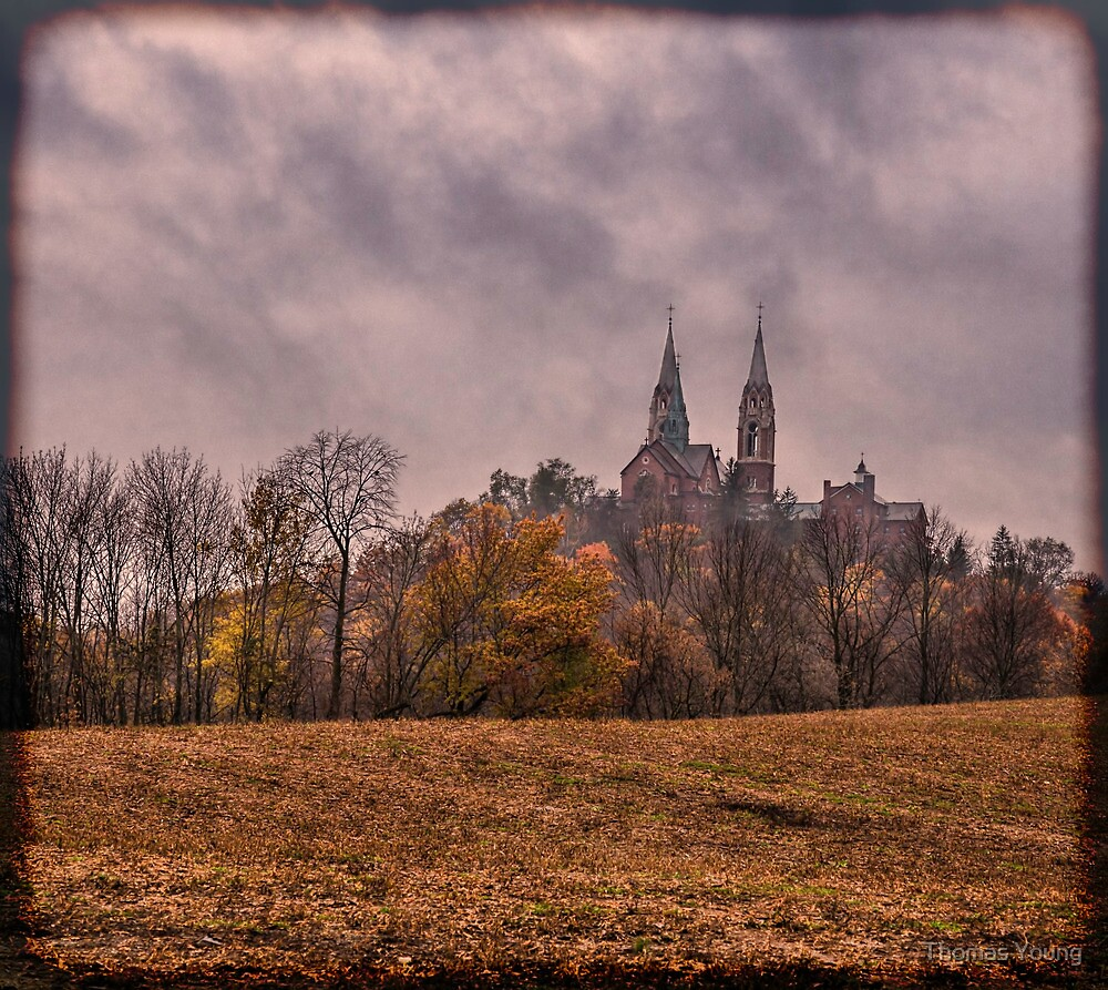 Autumn Arrives At Holy Hill by Thomas Young