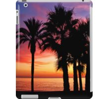 Tropical sunset iPad Case/Skin