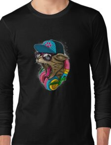 Cool And wild Cat Long Sleeve T-Shirt