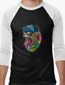 Cool And wild Cat Men's Baseball ¾ T-Shirt