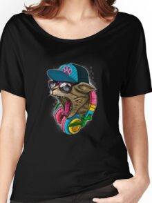 Cool And wild Cat Women's Relaxed Fit T-Shirt