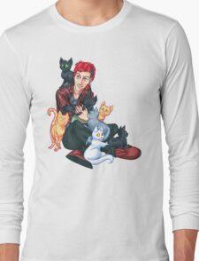 Josh Dun + Cats Long Sleeve T-Shirt
