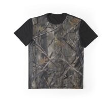 Real Leaf Camouflage Graphic T-Shirt