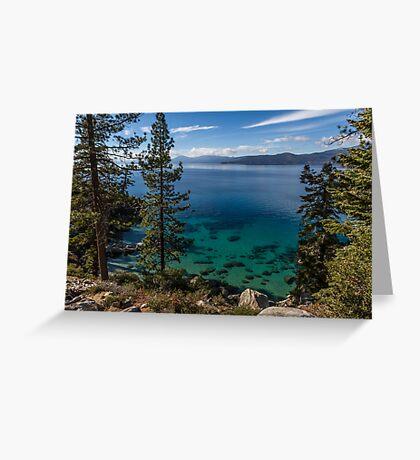 Pure - Lake Tahoe Greeting Card
