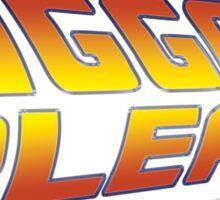 Back to the Future: Jigga Please Sticker
