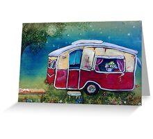 848 caravan Greeting Card