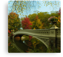 Bow Bridge and San Remo Canvas Print