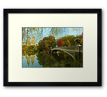 Bow Bridge and San Remo Framed Print