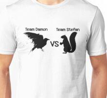 Salvatore Brothers: Team Damon vs. Team Stefan Unisex T-Shirt