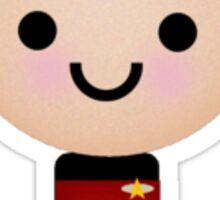 Cute Picard Sticker