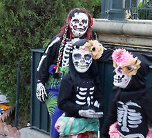 Calaveras Children at Day of the Dead Los Angeles by effie2
