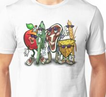 Food Groups Unisex T-Shirt