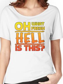 Big Bang Theory Hell Quote Women's Relaxed Fit T-Shirt