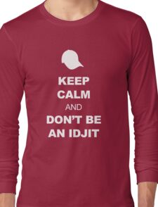 Supernatural Keep Calm Parody (Bobby) Long Sleeve T-Shirt