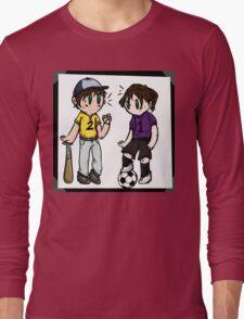 Sports Siblings Long Sleeve T-Shirt