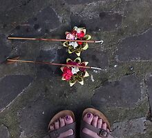 Offering, Bali by Julie Foreman